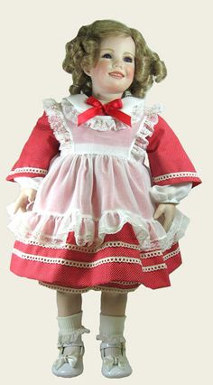 """24"""" Littlest Rebel Shirley Temple Doll Outfit 