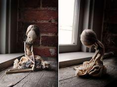 RESERVED Pierrette Art Doll by karlyperezdolls on Etsy