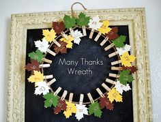 Thanksgiving crafts, snacks and activities
