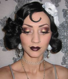flapper makeup - Google Search