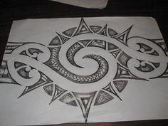 Design pencil sketch deviantart more like maori inspired tattoo Pencil Drawings Of Love, Pencil Drawing Tutorials, Cool Art Drawings, Drawing Faces, Easy Drawings, Drawing Ideas, Drawing Tips, Sketch Tattoo Design, Tattoo Sketches