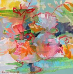originals - ERIN GREGORY Erin Gregory, Artist Gallery, Better Together, Flower Power, Floral Paintings, Fine Art, Florals, The Originals, Abstract