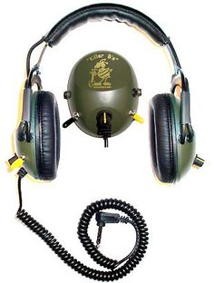 Headphones for Metal Detecting