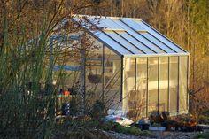 Ruusunmekko garden's greenhouse 'Verstas' in April 2014