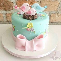 62 Ideas Cupcakes Baby Shower Girl Fondant Sweets For 2019 Baby Cakes, Baby Shower Cakes, Gateau Baby Shower, Baby Birthday Cakes, Girl Cakes, Cute Cakes, Pretty Cakes, Beautiful Cakes, Amazing Cakes
