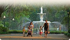 Savannah GA Family Vacation Ideas