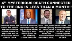 The word Arkancide, probably coined by the website Arkancide, refers to potential witnesses to the Clintons' dirty dealings in Arkansas suddenly committing suicide by shooting themselves in t…