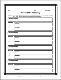 Mla Research Essay Format Example Pinterest Free Printable Graphic Organizers for Opinion Writing by Genia Connell