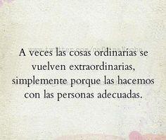 Todo a tu lado es extraordinario. Siempre lo mejor. ❤