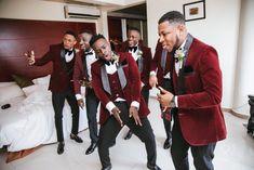 Loretta and Josh's White Wedding in Ghana will Captivate You Easily Wedding Tux, Fancy Wedding Dresses, Plus Size Wedding Gowns, Maroon Wedding, African Wedding Dress, Wedding Prep, Burgundy Wedding, Wedding Attire, Curvy Women