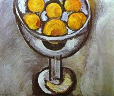 Henri Matisse, A Vase with Oranges, 1916  Oil on canvas, Private Collection
