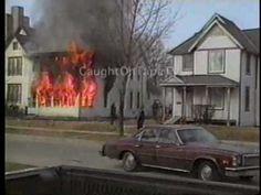 Amazing Escape From Burning House