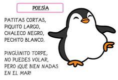 poesía pingüinos