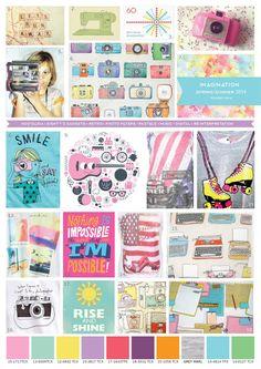 Emily Kiddy: Girls Trend - Spring Summer 2014 - Imagination