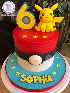 10th Birthday Parties, 7th Birthday, Birthday Celebration, Birthday Ideas, Bolo Pikachu, Pikachu Cake, Pokemon Birthday Cake, Pokemon Party, Birthday Party Decorations Diy