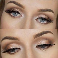 Classic Shimmer Eyeshadow Makeup | Wedding Makeup | Makeup Inspiration | Source: makeupwithtea.com