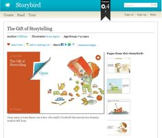 StoryBird Literacy Project - writing childrens books @Stacy Stone Ann