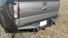 HoneyBadger Rear Bumper /MFG # R017201280103 The New Addictive Desert Designs Honey Badger Rear Bumper is made for most of today's full-size trucks. The most unique feature of this bumper are the two