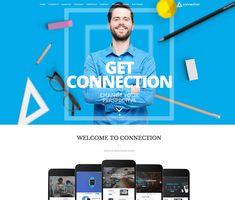 Portfolio Wordpress, Menu Layout, Page Layout, Amazing Websites, Mega Menu, News Online, Creative Business, Connection, Layout
