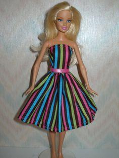 DIY Barbie Stuff | Homemade Barbie Doll Clothes http://www.etsy.com/listing/98749471 ...
