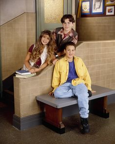 Cory, Shawn, and Topanga From Boy Meets World