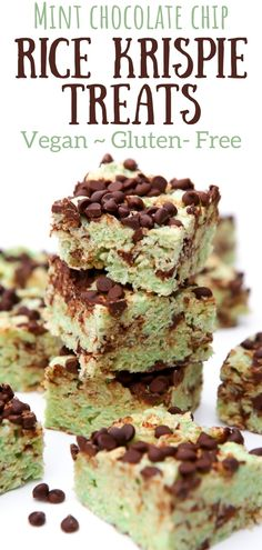 A quick and easy vegan and gluten-free treat. Made on the stovetop or even in the microwave, these vegan rice Krispie treats are perfect for summer. thehiddenveggies.com