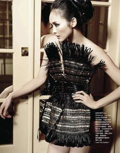 Chin Hsi | Tim Ho | Vogue Taiwan March 2012 | 'Parisian Lady' - 8 Style | Sensuality Living - Anne of Carversville Women's News