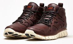 Nike Free Run 2 Sneakerboots Premium   Barkroot Brown Leather
