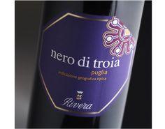 dettaglio #etichetta Nero di Troia - Rivera #packaging #label #wine #design
