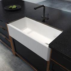 Prochef by Julien (@prochef_julien) • Photos et vidéos Instagram Farmhouse Bowls, Farmhouse Aprons, Kitchen Fitters, Fireclay Sink, Apron Sink Kitchen, Waste Disposal, Front Design, Contemporary Style, Countertops