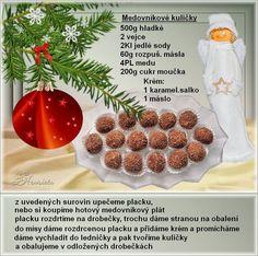 6 rôznych druhov vianočného pečiva od Jindřišky Šimůnkovej /3/ | Báječné recepty Christmas Sweets, Christmas Candy, Christmas Baking, Xmas, Holiday Cookie Recipes, Holiday Cookies, No Bake Cake, Cupcake Cakes, Raspberry