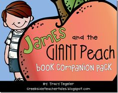 James and the Giant Peach  Mega Book Companion Pack   170 pages