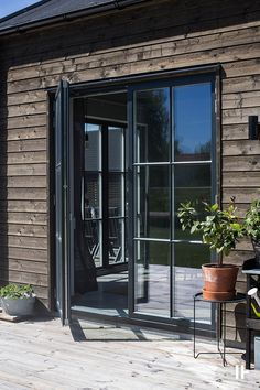 Backyard Office, Backyard Studio, Backyard Sheds, Steel Frame Doors, Danish House, Weekend House, Ranch House Plans, Dream House Exterior, Pool Houses