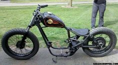 Ray - Just put the XS back into roller form. Mini Chopper, Bobber Motorcycle, Trident, Cars Motorcycles, Bicycle, Vehicles, Patches, Log Projects, Picture Wall