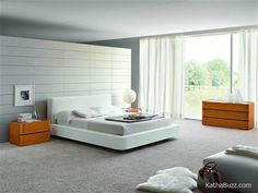 Modern Bedroom Design For more pictures and design ideas, please visit my blog http://pesonashop.com