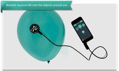 MOGEES – 世界を楽器に – あらゆるモノを音楽に変える驚異の未来型音楽デバイスが KICKSTARTERでデビュー - http://japa.la/?p=28025