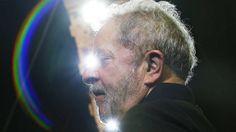 Ex-presidente Lula durante comício em Guarulhos, na região metropolitana de São Paulo