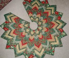 Christmas Tree Skirts Patterns - Free Pattern Cross Stitch