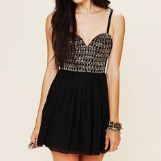 One Teaspoon Embellished Dress