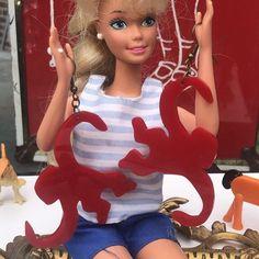 Barrel Of Monkeys, Vintage Barbie Dolls, Classic Looks, Inspired, Disney Princess, Board, Earrings, Model, Inspiration