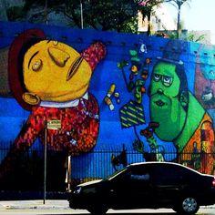 """@alvins's photo: """"#ilivesp"""" Graffiti in Sao Paulo"""