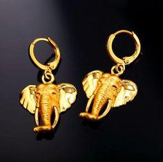 Elefanten Ohrringe gelb Gold überzogen  https://rwa-schmuck.de/collections/elefanten-schmuck/products/elefanten-ohrringe-gelb-gold-uberzogen  #ElefantenSchmuck #ElefantenKette #ElefantenAnhänger #ElefantenOhrringe #Elefanten #Elefant