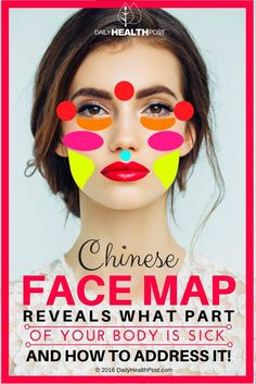 If your eyes are the windows to your soul, then your face is a map of everything that ails you, according to�Traditional Chinese Medicine�(TCM).