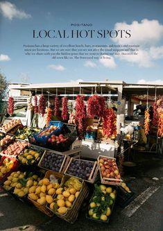 Local hot spots Positano by Dstrezzed