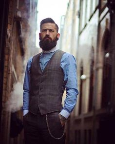 dose of great beard styles from - Male Perfume - Daily dose of great beard styles from . -Daily dose of great beard styles from - Male Perfume - Daily dose of great beard styles from . Hipster Stil, Estilo Hipster, Hipster Fashion, Suit Fashion, Mens Fashion, Beard Fashion, Rugged Style, Great Beards, Awesome Beards