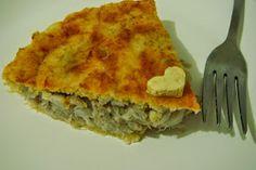 café com lady : Empadinha de grão de bico e queijo