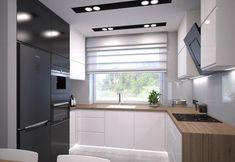 Kitchen Room Design, Modern Kitchen Design, Home Decor Kitchen, Interior Design Kitchen, Home Kitchens, Modern Kitchen Interiors, Modern Kitchen Cabinets, Cuisines Design, Apartment Design