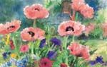 I love Judy Buswell's art.  You can occasionally buy her cards or calendars and then frame her prints.