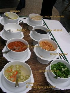 Accompaniement for Rice Porridge & Rice Porridge Recipe