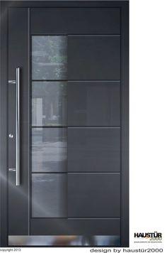 Aluminium Haustür Alu Haustür Haustüren flügelüberdeckend HT 5314 FA RAL 7016 | Heimwerker, Fenster, Türen & Treppen, Türen | eBay!